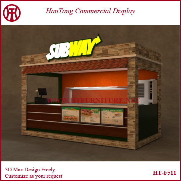 Newest Design Hot Sale Shopping Mall Indoor Fast Food