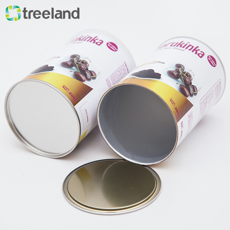 Custom Hot Chocolate Drinking Powder Packaging Tube