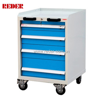 Mobile tool storage trolley with 4 drawers/roll cabinet tool box  sc 1 st  Alibaba & Mobile Tool Storage Trolley With 4 Drawers/roll Cabinet Tool Box ...