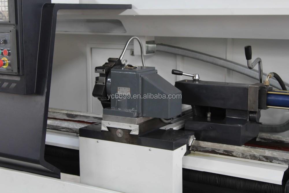 Cks6140 Fanuc System Cnc Lathe Machine With 12-position Hydraulic Turret -  Buy Cnc Lathe Machine,Slant Bed Cnc Lathe,Horizontal Cnc Lathe Machine