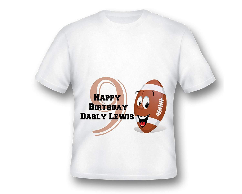 Personalized Football Shirt, Birthday Football shirt, boys Football shirt, Football T-shirt, Football Birthday