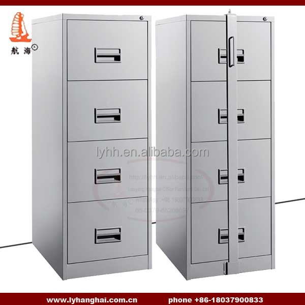 Lockable Steel Filing Cabinet Specifications Four Drawer Letter Size  Vertical File Cabinet Made In China