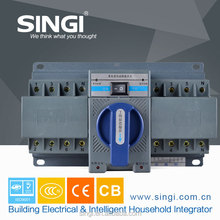 China manufacturer with 20 year's producing experience automatic transfer switch 3/4P 63A with CCC/ISO9001 change over switch