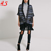 Latest Hot Selling Products Ladies Clothes Wrap Back Knitted Women's Coat With Tassel