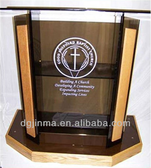 Church Glass Pulpit, Church Glass Pulpit Suppliers And Manufacturers At  Alibaba.com