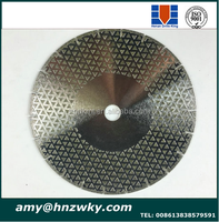 Electroplating 3 Inch Stone Diamond Polishing Pads Discs