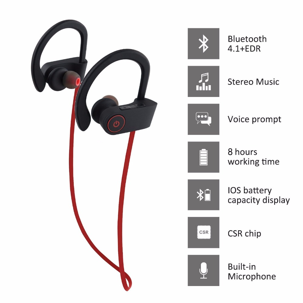 New products 2019 free samples mobile sport earphone & headphone in ear earphone for iPhone for android phones