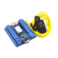 Network control relay switches P2P WIFI module 16 relay remote control mobile control