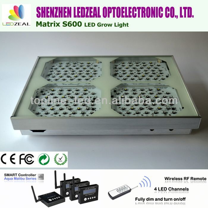 China supplier New product Matrix S600 procyon led grow light with smart controller