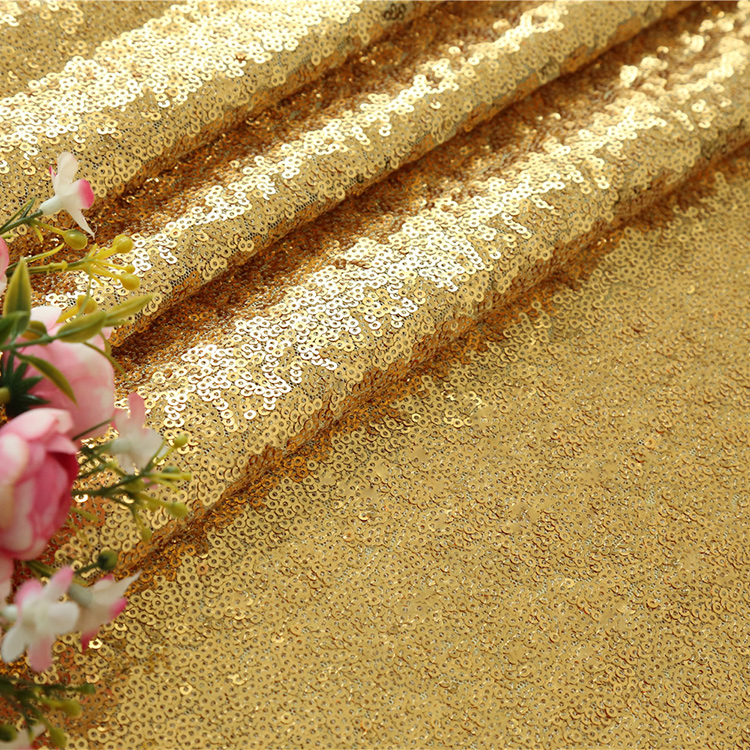 Seamless sequin mermaid party decoration supplies gold mermaid <strong>fabric</strong>
