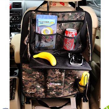 Fashion Design Versatile Car Back Seat Tray Camouflage Car Seat