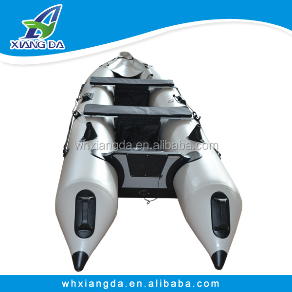 Fishing kayaks Korea PVC tube inflatable <strong>boat</strong> with electric motor