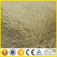 cheap long pile faux fur fabric