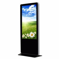 55 Inch LED Portable Android Floor Stand Indoor Digital Signage