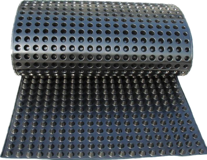 Hdpe Dimpled Drainage Sheet For Green Roof Drainage Mat