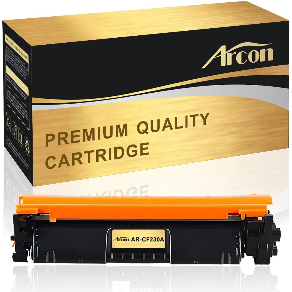Arcon 1 Pack Compatible for HP 30A CF230A Toner Cartridge for HP 30A CF230A HP LaserJet MFP M227fdw, HP LaserJet Pro MFP M227fdw m277fdn for HP LaserJet Pro M203dw m203dn Printer Toner Cartridge