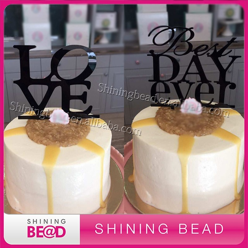 Valentine S Day Cupcake Topper Wholesale Acrylic Cake Topper For