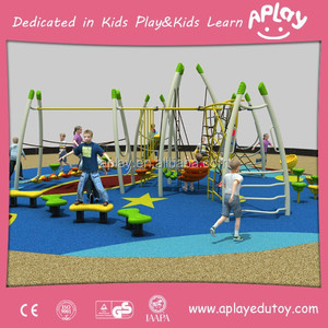 Colorful and fun factory price build your own playground kids big backyard playsets