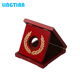 LINGTIAN Crafts Custom Made Wooden Commemorative Coin Display Box