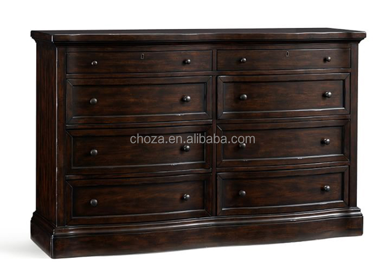 F50508A-1american modern living room furniture wooden storage cabinet with drawes chest of drawers