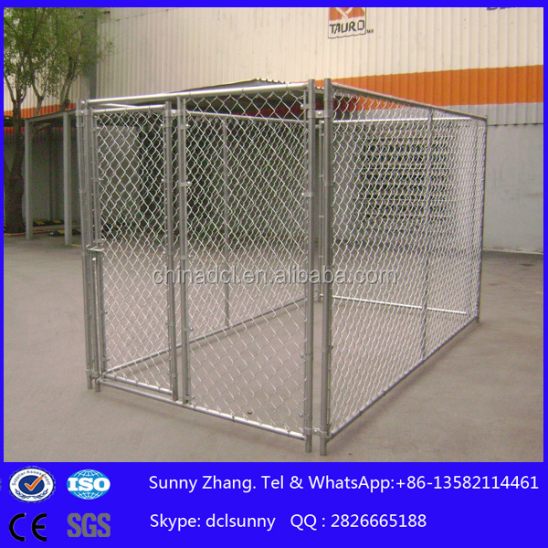 used large dog kennel/dog run kennel
