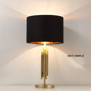 new items of goods in 2017 table lamp fancy lights for home