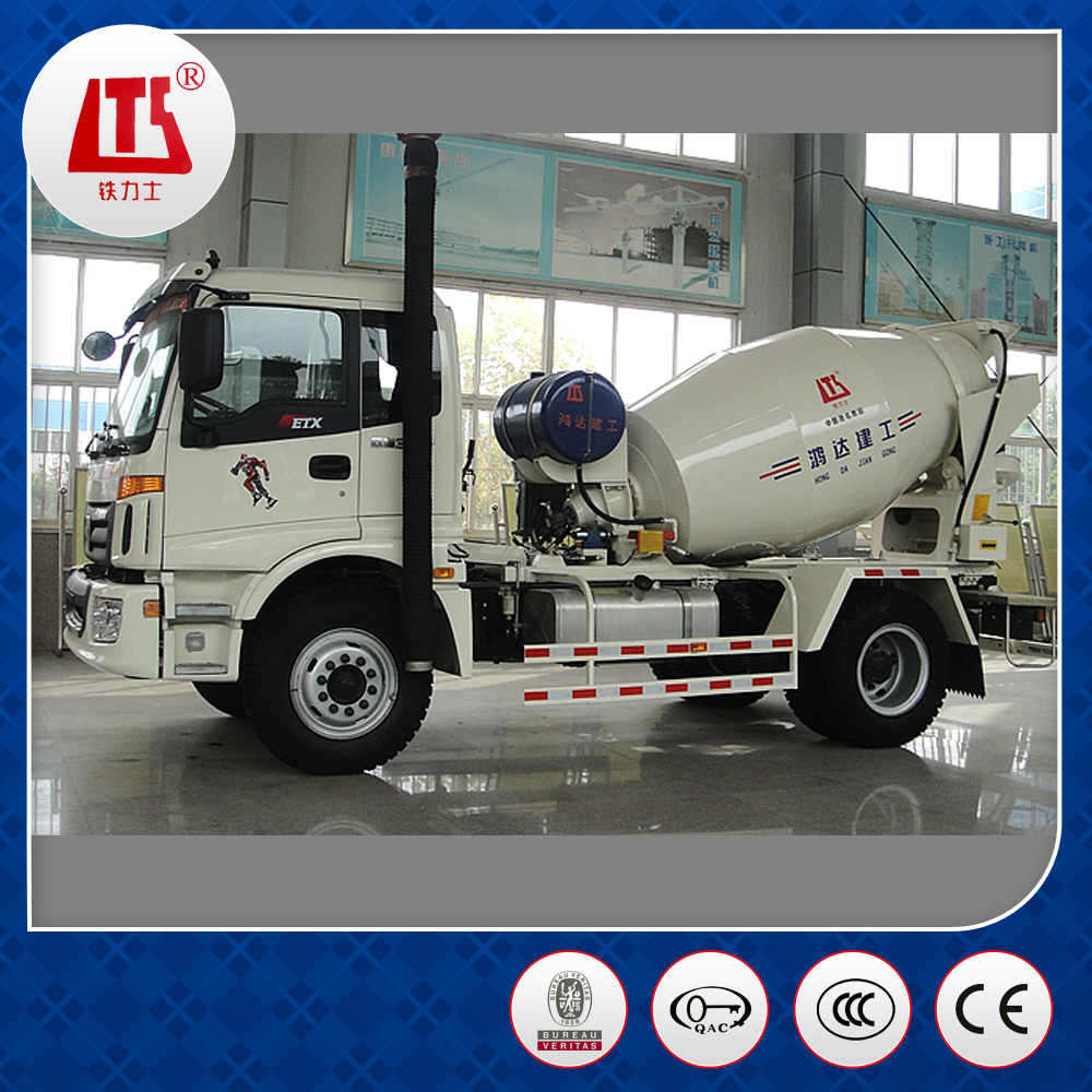 Second Hand self loading concrete mixer truck