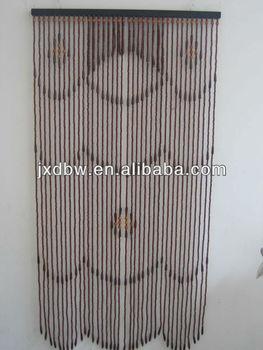 Simple Design Home Decorative Wood Beaded Curtain Doors Buy Wood