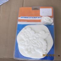 bestselling decorative paint tools sponge stamp kit