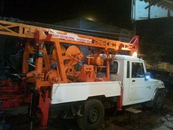 Borewell motor lifting crane buy portable lift crane for Motors used in cranes