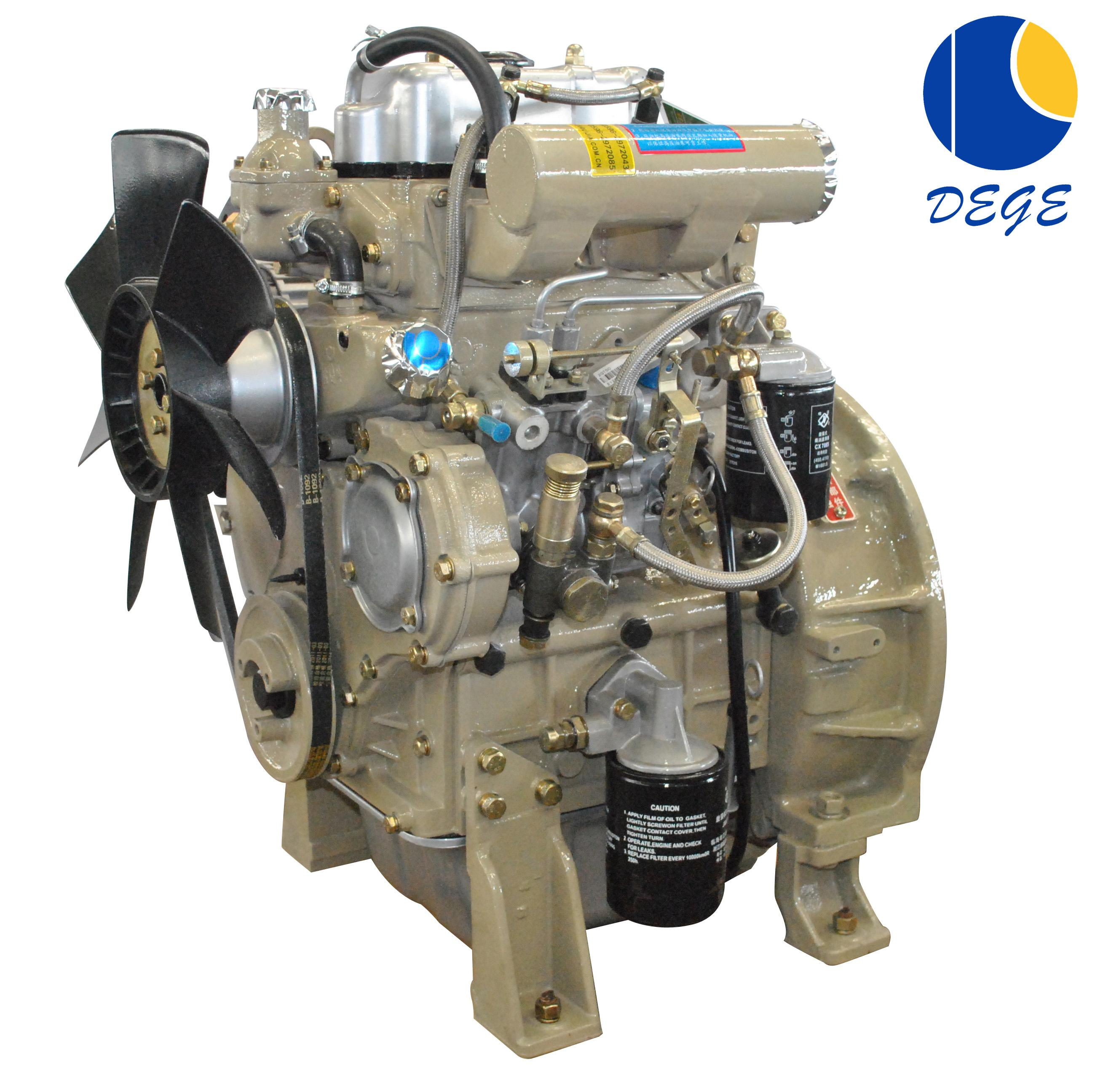 Top popular hot sale 2 cylinder diesel engine 25hp