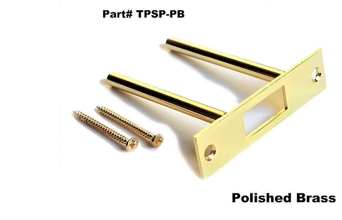 High Security Front Door Reinforcement | Frame, Hinge and Jamb Repair | Anti Kick in Door Barrier | Deadbolt Strike Plate for Added Security | Two Post Strike Plate | Tuff Strike