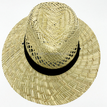 Factory Price Natural Hollow Straw Cowboy Hat Summer Wide Brim Straw ... d0a1ded8ef3