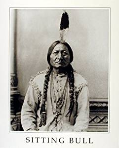 Sitting Bull Native American Indian Chief Wall Decor Art Print Poster (16x20)