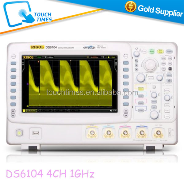 Upgraded RIGOL Digital Oscilloscope 4 Channel 1GHz 140Mpts DS6104 DS6102 DS6064 DS6062 600MHz 5Gsa/s