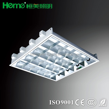 Fluorescent Light Recessed Mounted - Buy T8 Grille Lamp Lighting ...