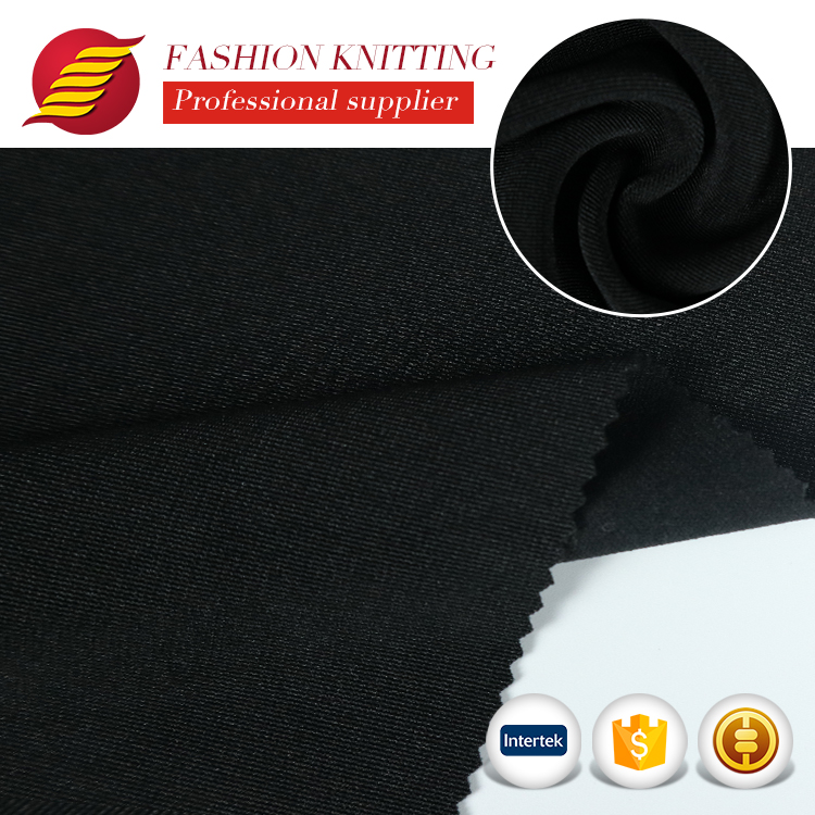2018 new style 92 <strong>polyester</strong> 8 elastane lycra <strong>polyester</strong> spandex blend fabric