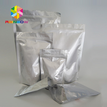 Stand Up Ziplock Food Plastic Sachet Bags For Seasoning Es Supplement Powder Packaging