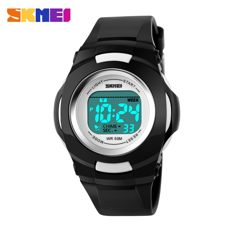Boys Girls LED Shockproof Digital Watch Sports Alarm Stopwatch Hour 50M Waterproof Dress Watches Children's Night Light function