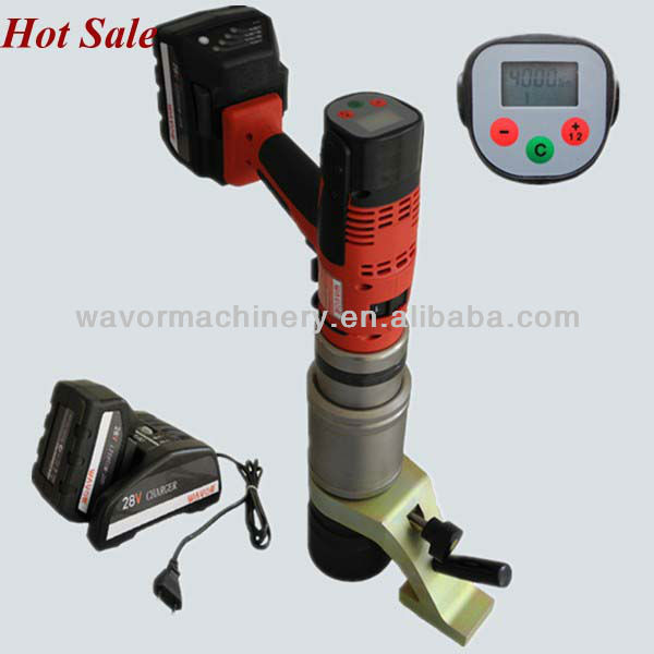 4000Nm railway fasten system cordless torque wrench