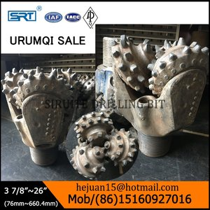 Used/second hand/scrap/junk tricone drill bit with lowest price/auger cone cutter