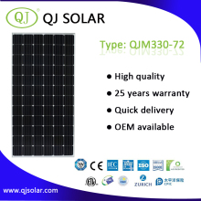 High Quality PV solar photovoltaic panel 330W 36V with certificate CE TUV CEC