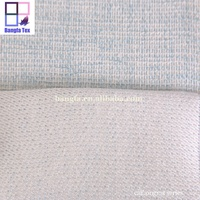 wholesale 100% polyester polyethylene pp woven linen fabric roll for curtain