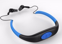8GB stereo Waterproof MP3 Player with swimming water sports running FM for Android Iphone 6