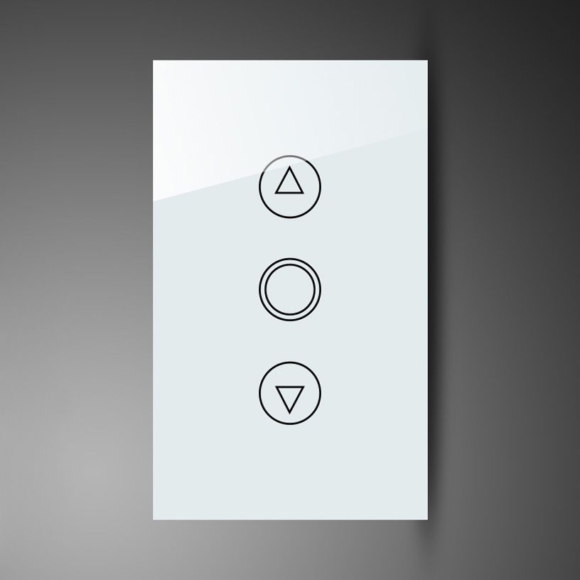Cool White Crystal Panel Wall Led Lights Dimmer Manual Switch ...