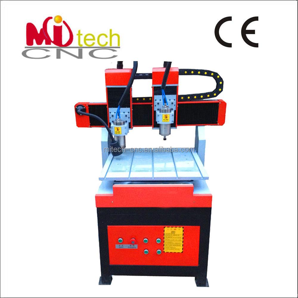 Mitech 6060 Hobby Double Heads Best Quality Mini Cnc Router Buy  # Muebles Un Kuarto