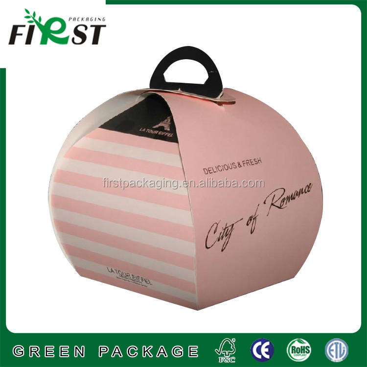 paper cardboard cake boxes&paper cardboard bakery boxes Bread bag