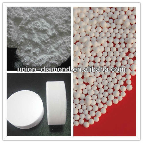 2-4 mm 7-10 mm High purity 5N Aluminum Oxide ball for growing sapphire ingot
