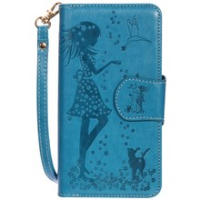 Card Slot Multi-function PU Leather Flip Phone Wallet Cover Case