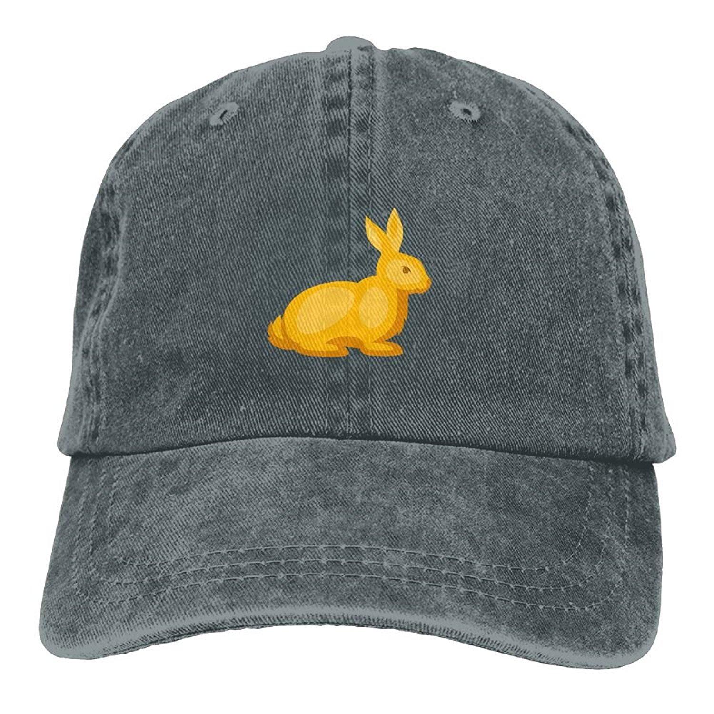 huge selection of 01c86 aa5c6 Get Quotations · WATSONIO Cowboy Hats For Women Yellow Cartoon Rabbit  Adjustable Cowboy Hats Stylish Asphalt